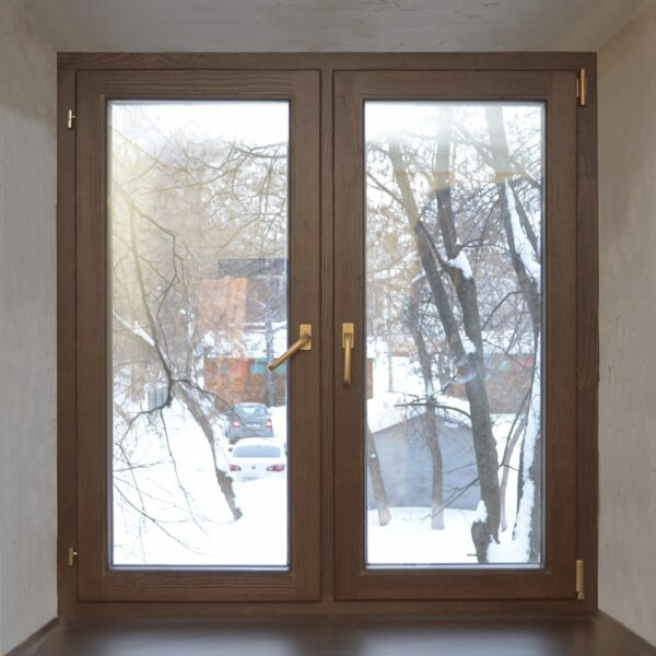 Окно для дачи в цвете