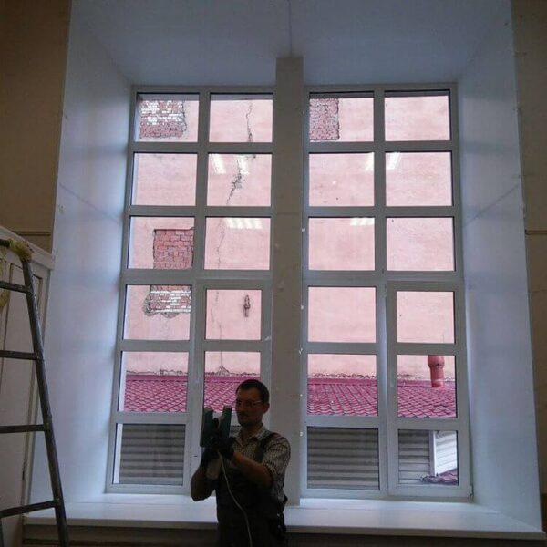 Большие окна по индивидуальным размерам от OKNER