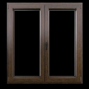 Пастиковые окна Болотный дуб